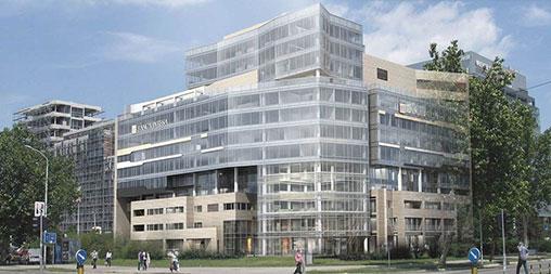 Banca Intesa Head Office Building, Belgrade