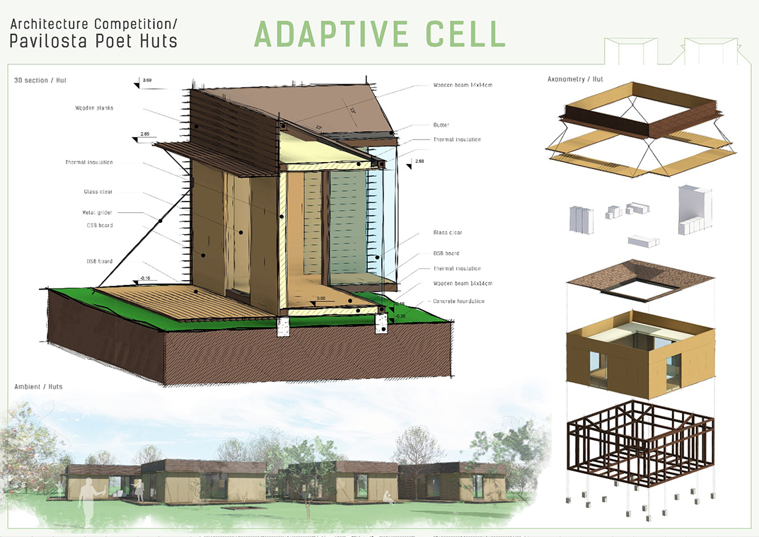Adaptive Cell, Pavilosta