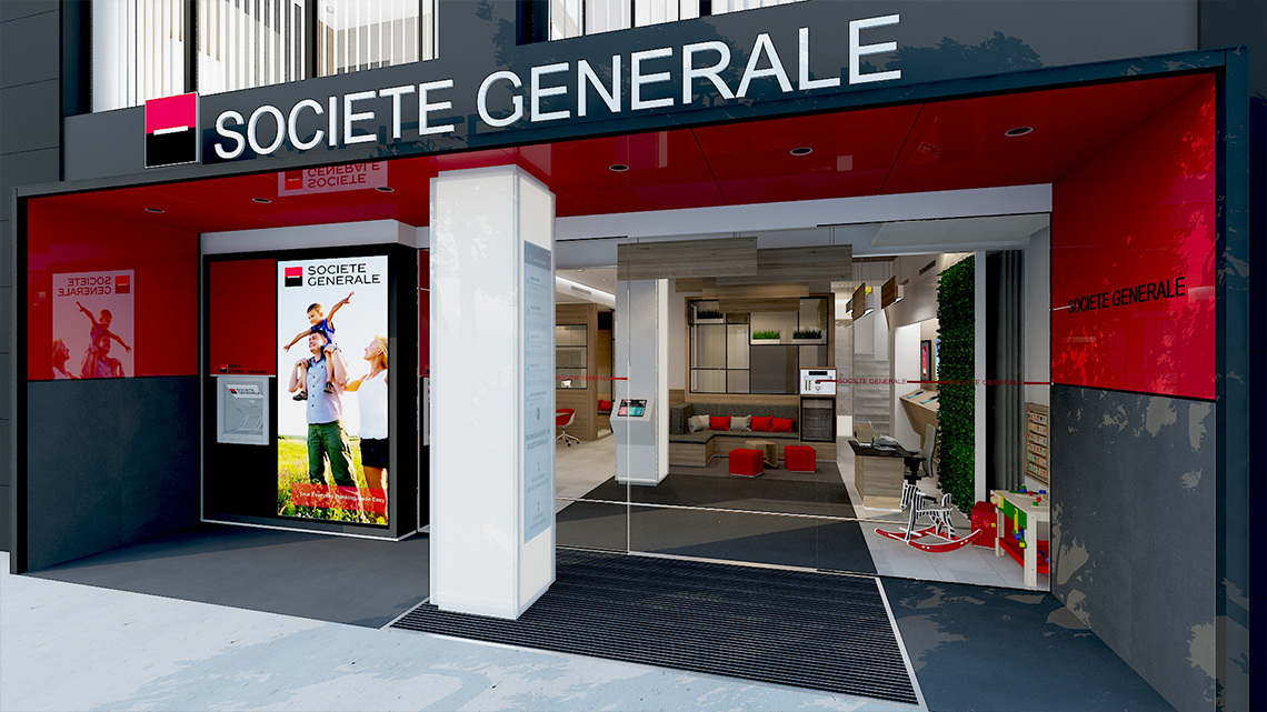 Societe Generale New Brand Design
